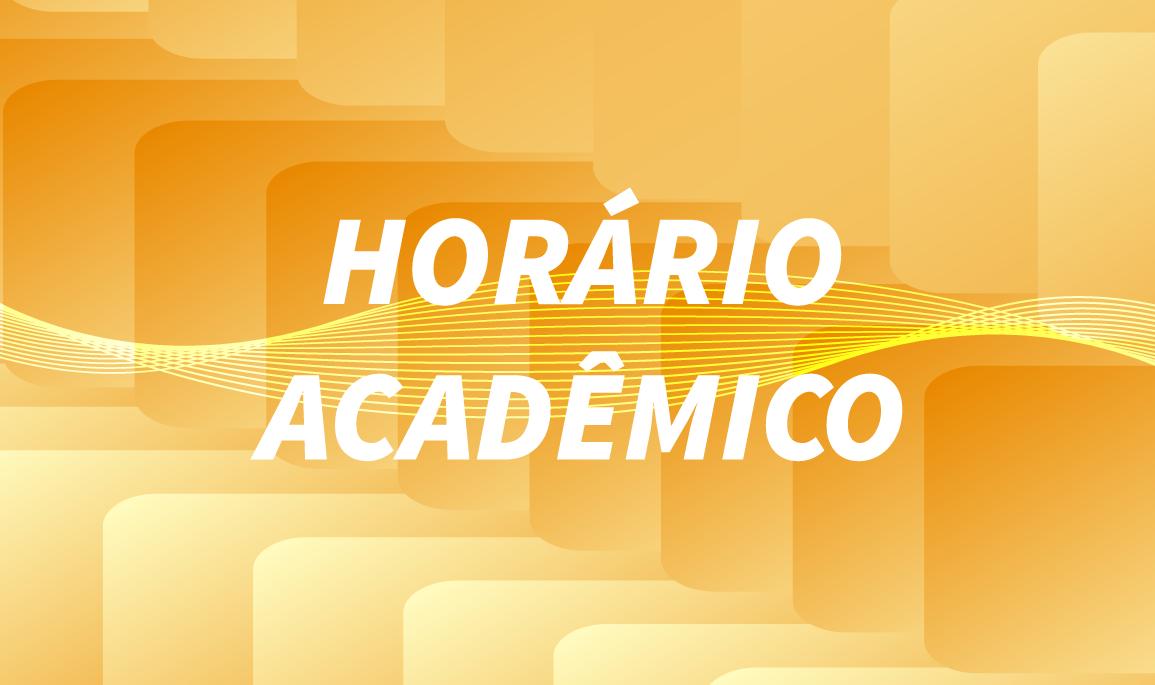 Horário Acadêmico