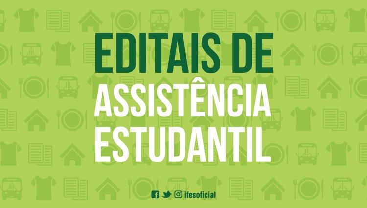 Campus Itapina publica edital de Assistência Estudantil em 2019