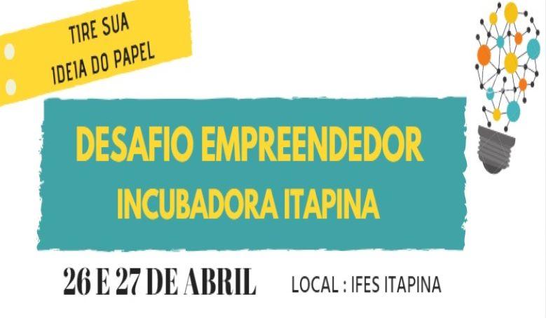 Campus Itapina lança Desafio Empreendedor