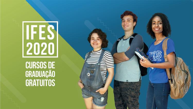 Processo Seletivo de cursos de graduação Ifes 2020
