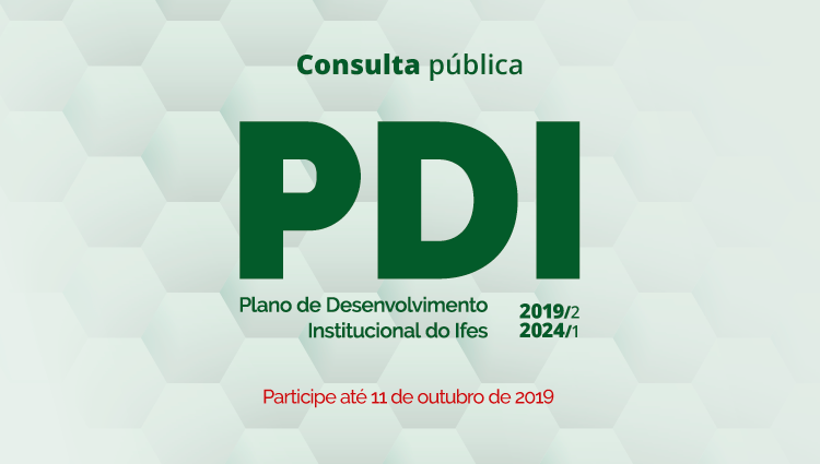 Plano de Desenvolvimento Institucional do Ifes está disponível para consulta
